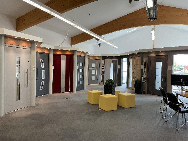 Ausstellung   BRENDEL GmbH   Haustüren   Helmbrechts