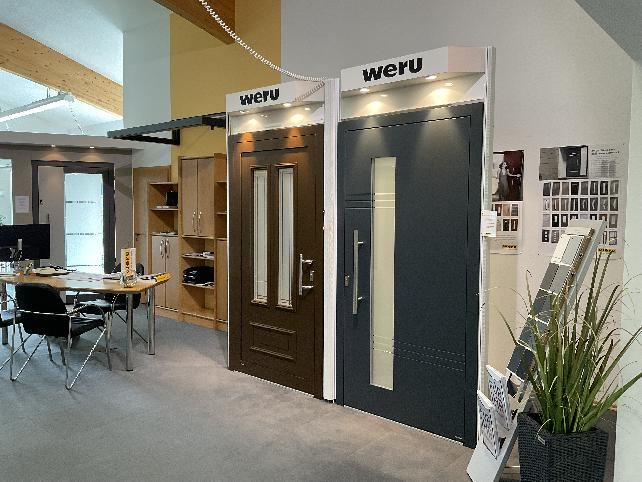 Ausstellung   BRENDEL GmbH   Weru Haustüren   Helmbrechts