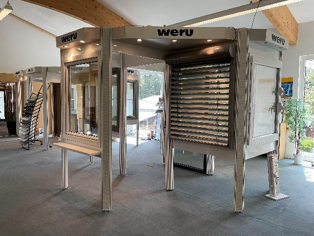 Ausstellung   BRENDEL GmbH   Weru Fenster